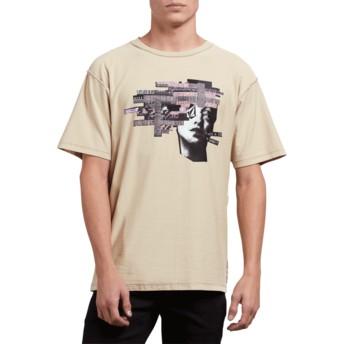 T-shirt à manche courte beige Noa Noise Head Clay Volcom