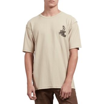 T-shirt à manche courte beige Noa Noise Clay Volcom