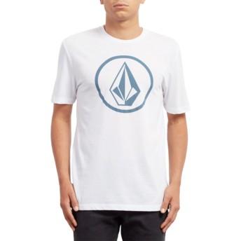 T-shirt à manche courte blanc Classic Stone White Volcom