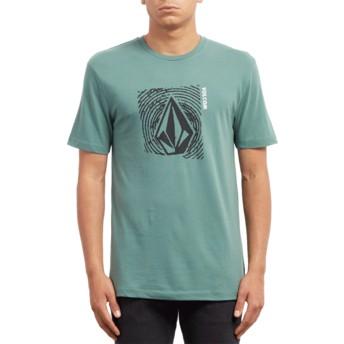 T-shirt à manche courte vert Stonar Waves Pine Volcom