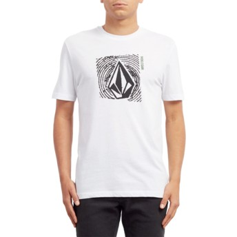 T-shirt à manche courte blanc Stonar Waves White Volcom