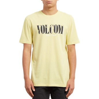 T-shirt à manche courte jaune Lifer Acid Yellow Volcom