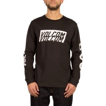 T-shirt à manche longue noir Chopper Black Volcom