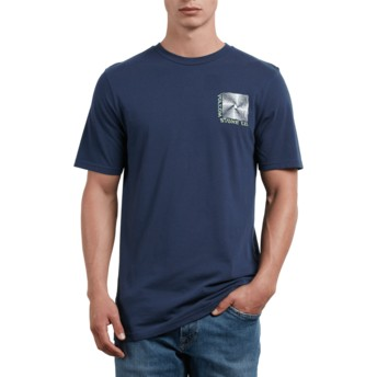 T-shirt à manche courte bleu marine Stone Radiator Navy Volcom
