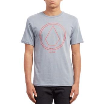 T-shirt à manche courte bleu Pinline Stone Arctic Blue Volcom
