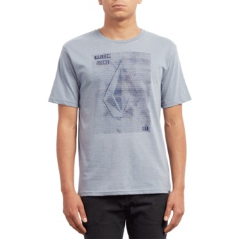 T-shirt à manche courte bleu Line Tone Arctic Blue Volcom
