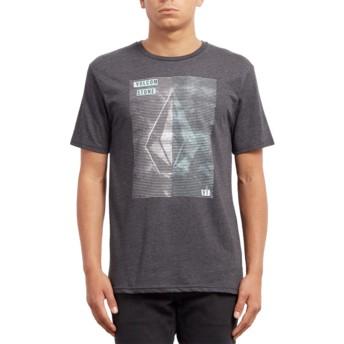 T-shirt à manche courte noir Line Tone Heather Black Volcom