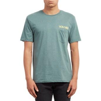 T-shirt à manche courte vert Center Pine Volcom