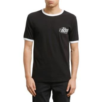 T-shirt à manche courte noir Slowburn Black Volcom
