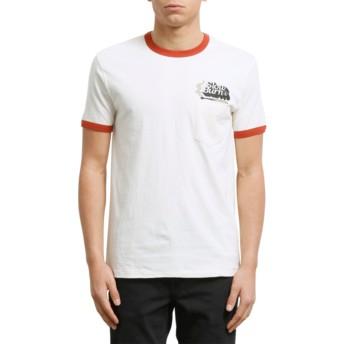 T-shirt à manche courte blanc Slowburn Egg White Volcom
