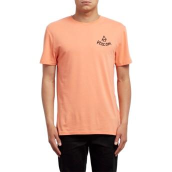 T-shirt à manche courte orange Chill Salmon Volcom