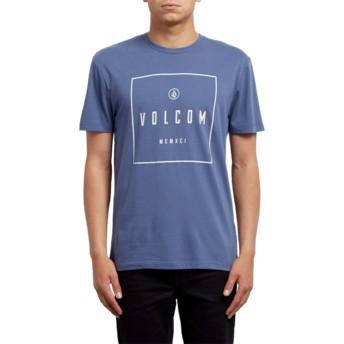 T-shirt à manche courte bleu Scribe Deep Blue Volcom