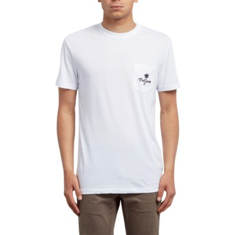 T-shirt à manche courte blanc Last Resort White Volcom
