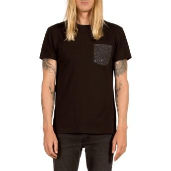 T-shirt à manche courte noir Contra Pocket Black Volcom