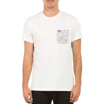 T-shirt à manche courte blanc Contra Pocket White Volcom
