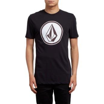 T-shirt à manche courte noir Classic Stone Black Volcom