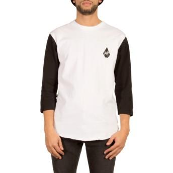 T-shirt à manche 3/4 blanc Chain Gang White Volcom
