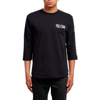 T-shirt à manche 3/4 noir Enabler Black Volcom