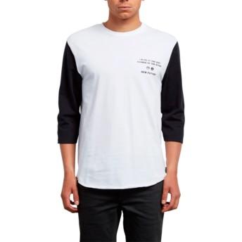 T-shirt à manche 3/4 blanc Enabler White Volcom
