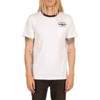 T-shirt à manche courte blanc Tringer White Volcom