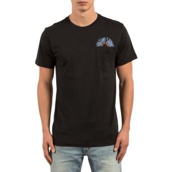 T-shirt à manche courte noir Doom Bloom Black Volcom