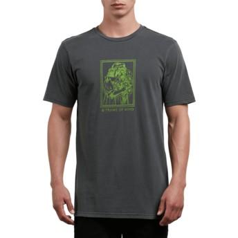 T-shirt à manche courte noir Watcher Black Volcom