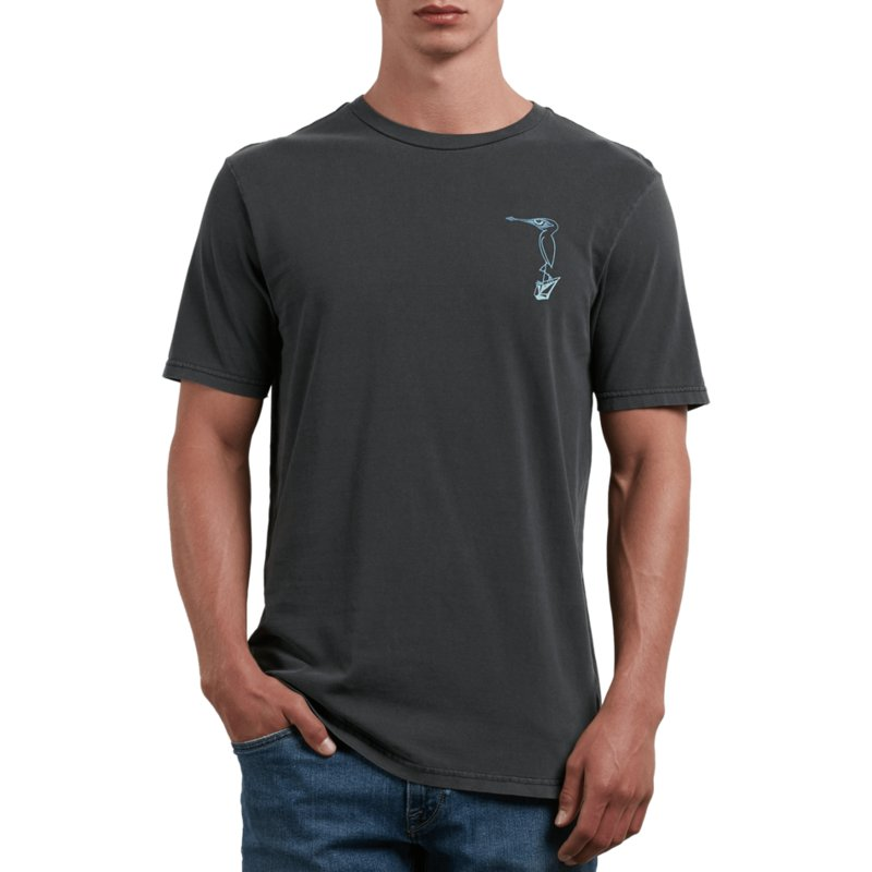 t-shirt-a-manche-courte-noir-burch-bird-black-volcom
