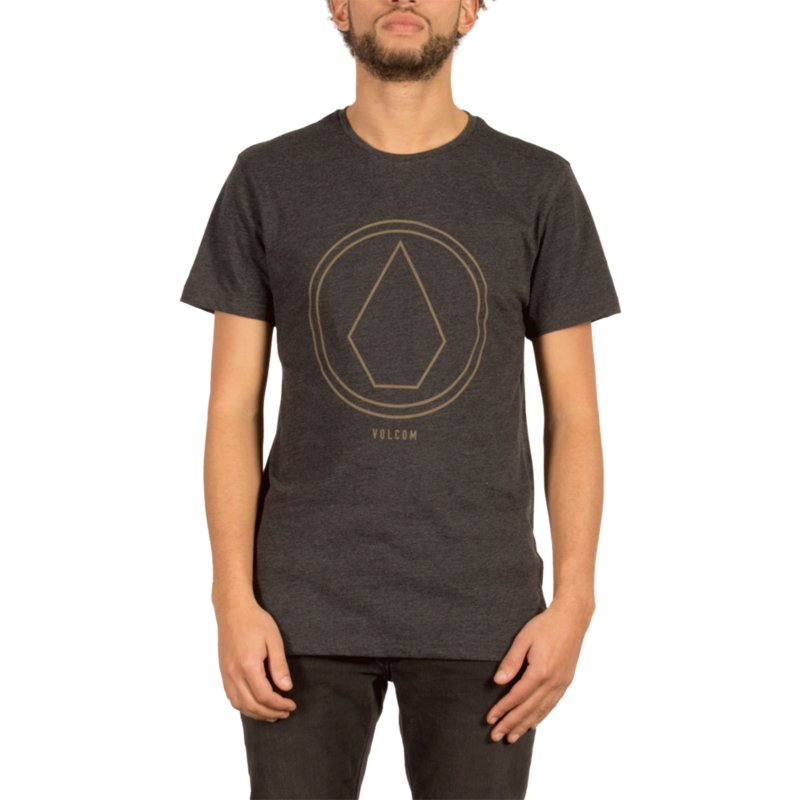 t-shirt-a-manche-courte-noir-pinline-stone-heather-black-volcom