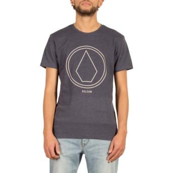 T-shirt à manche courte bleu marine Pinline Stone Indigo Volcom