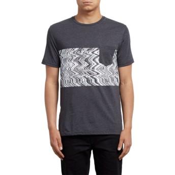 T-shirt à manche courte noir Lofi Heather Black Volcom