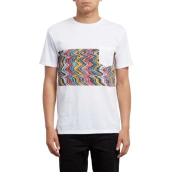 T-shirt à manche courte blanc Lofi White Volcom
