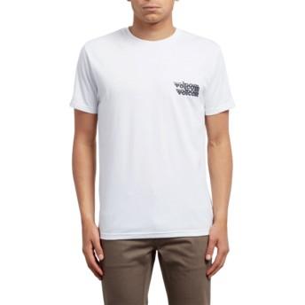 T-shirt à manche courte blanc Peek A Boo White Volcom