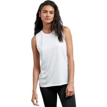 T-shirt sans manches blanc Mix A Lot White Volcom