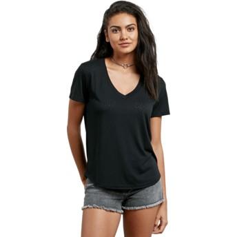 T-shirt à manche courte noir Mix A Lot Black Volcom