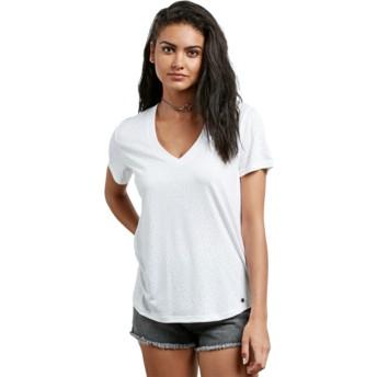 T-shirt à manche courte blanc Mix A Lot White Volcom