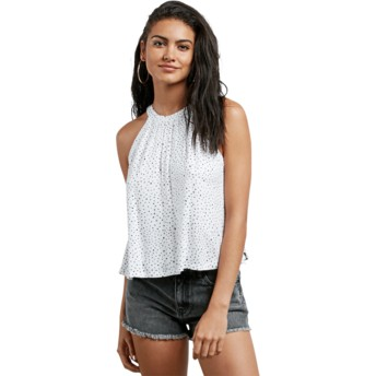Blouse sans manches blanche Mix A Lot Star White Volcom