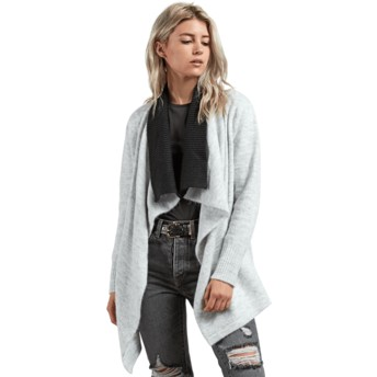 Pull gris Cold Band Wrap Heather Grey Volcom