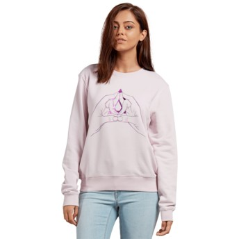 Sweat-shirt violet Sound Check Light Purple Volcom