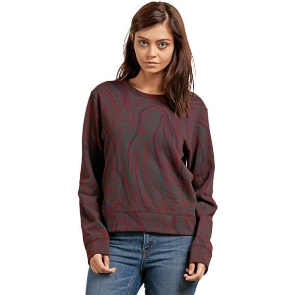 sweat-shirt-rouge-splat-dat-burgundy-volcom