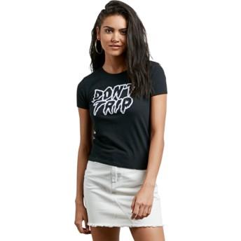 T-shirt à manche courte noir Don't Even Trip Black Volcom