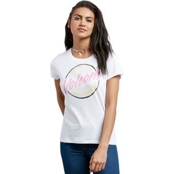 T-shirt à manche courte blanc Easy Babe Rad 2 White Volcom