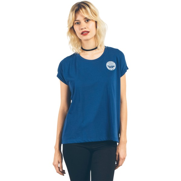 t-shirt-a-manche-courte-bleu-marine-cruize-it-navy-volcom