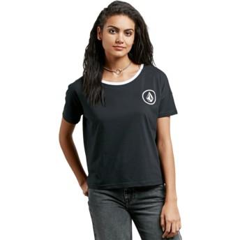 T-shirt à manche courte noir Simply Stoned Black Volcom