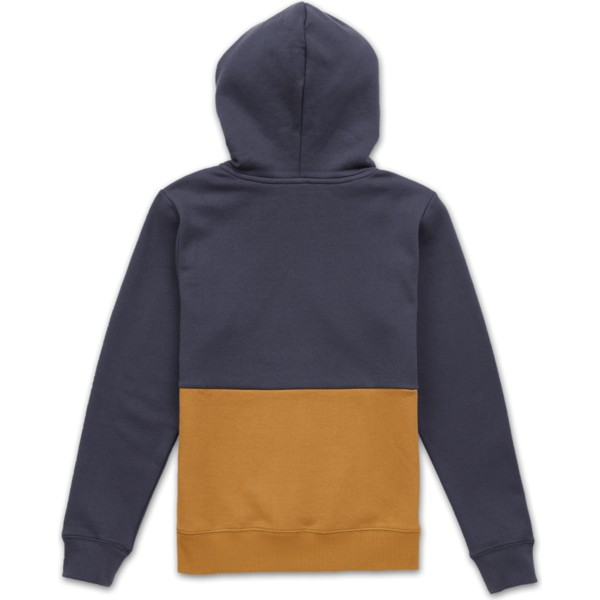 sweat-a-capuche-bleu-marine-pour-enfant-single-stone-division-midnight-blue-volcom