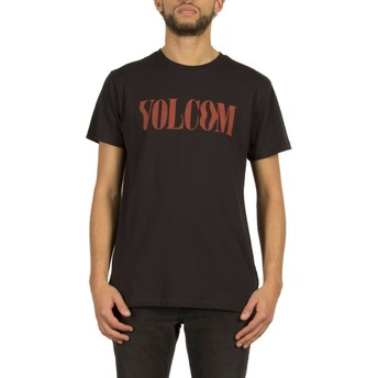 T-shirt à manche courte noir Weave Black Volcom