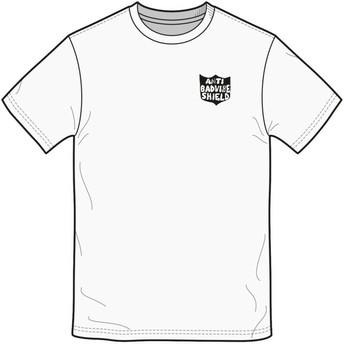 T-shirt à manche courte blanc Ozzie White Volcom