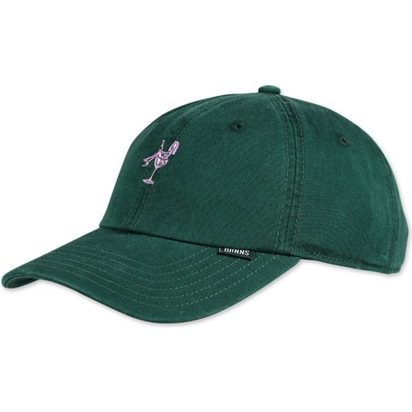 casquette-courbee-bouteille-verte-ajustable-washed-girl-djinns