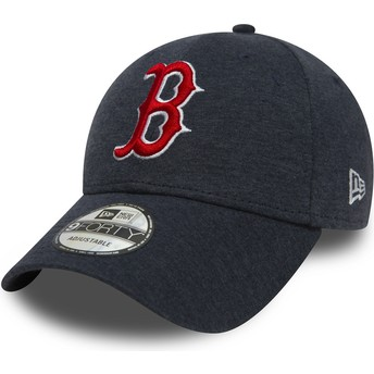 Casquette courbée bleue marine ajustable 9FORTY The League Winterised Boston Red Sox MLB New Era