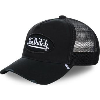 Casquette trucker noire TRUCK01 Von Dutch