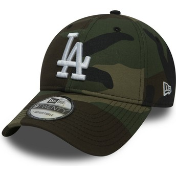 Casquette courbée camouflage ajustable 9TWENTY Essential Packable Los Angeles Dodgers MLB New Era